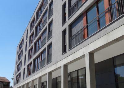 Wohn- und Geschäftshaus Hans-Scharoun-Platz, Stuttgart-Rot