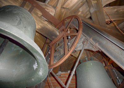 Sanierung Glockenturm, St. Nikolaus Kirche Heggelbach