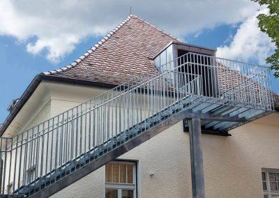 Fluchttreppe Emilienkrippe, Reutlingen