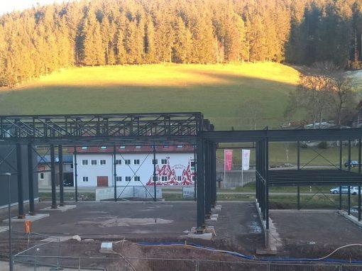 Erweiterung Lagerhalle der Firma Ganter, Furtwangen