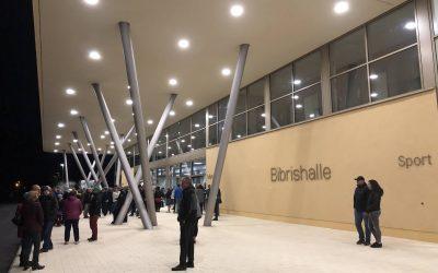 """Einweihung der neuen """"Bibrishalle"""" in Herbrechtingen"""
